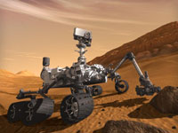 NASA Curiosity MSL