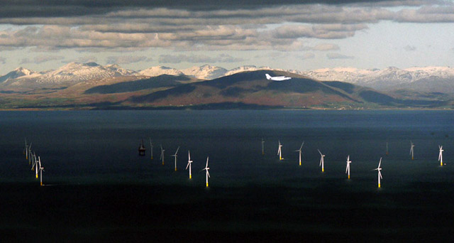 вітрова ферма Walney Wind Farm